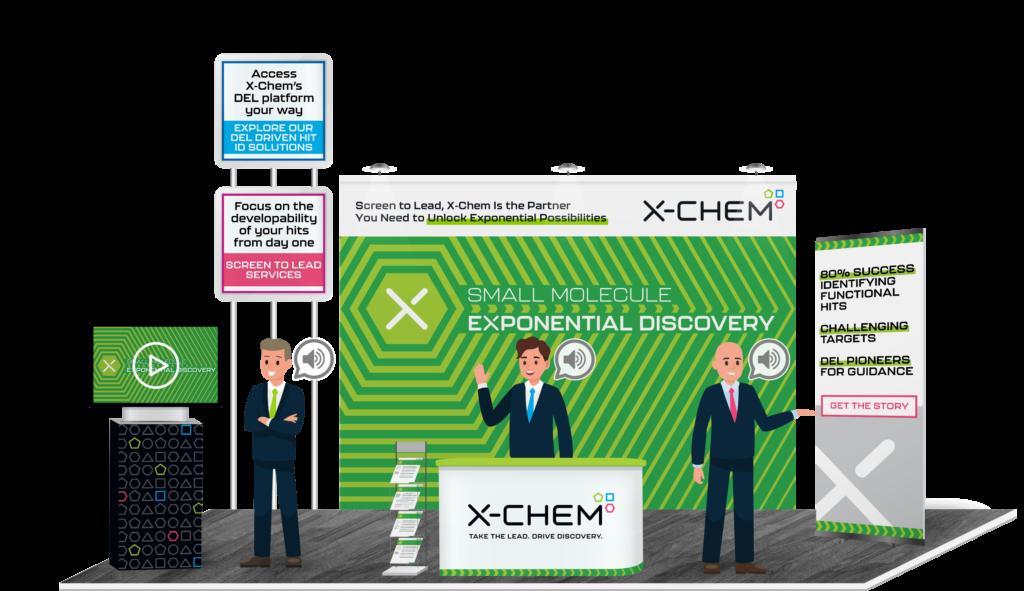 x-chem virtual booth